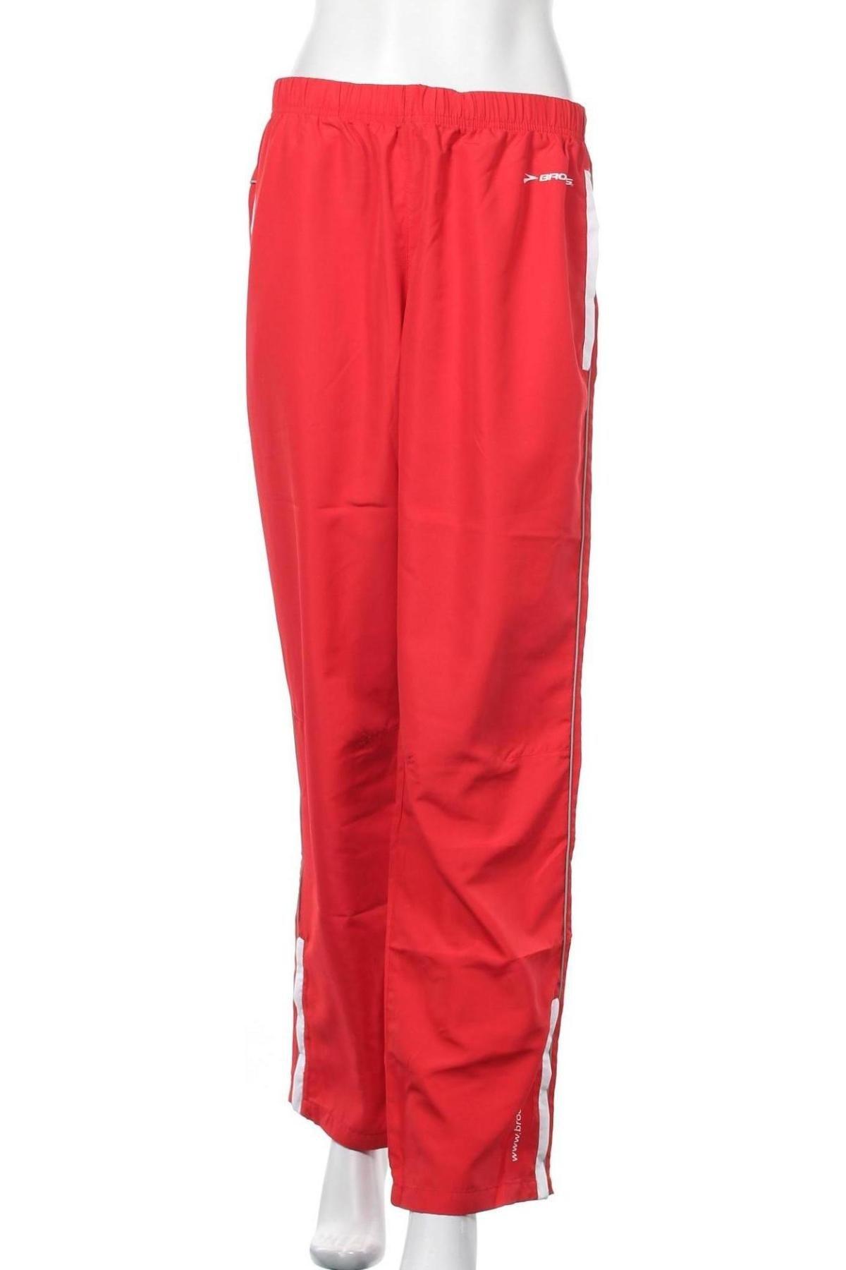 Γυναικείο αθλητικό παντελόνι Brooks, Μέγεθος M, Χρώμα Κόκκινο, Πολυεστέρας, Τιμή 19,63€