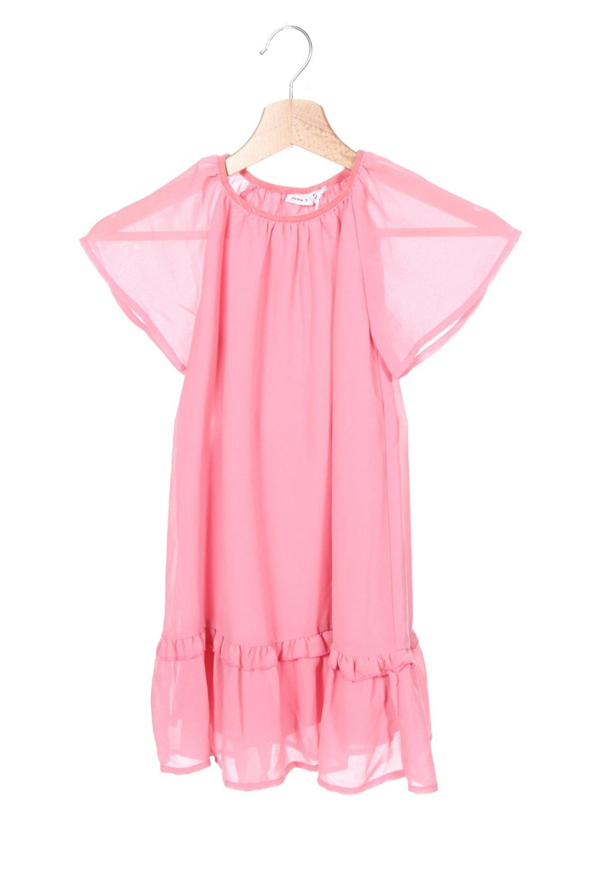 Παιδικό φόρεμα Name It, Μέγεθος 5-6y/ 116-122 εκ., Χρώμα Ρόζ , Πολυεστέρας, Τιμή 18,19€