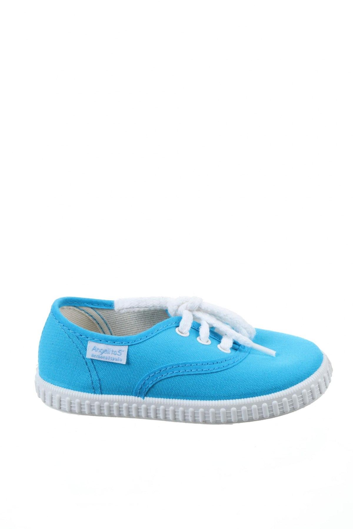 Детски обувки Angelitos, Размер 26, Цвят Син, Текстил, Цена 36,75лв.