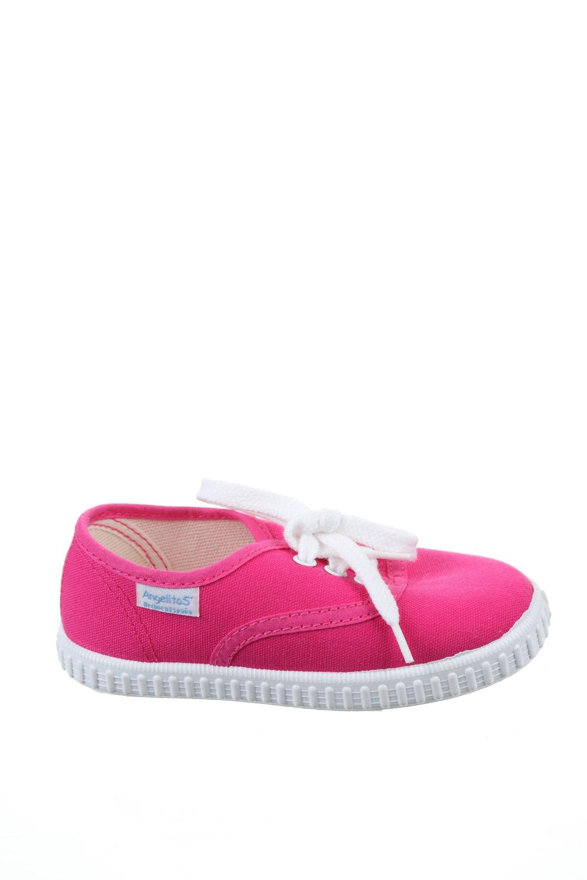 Детски обувки Angelitos, Размер 26, Цвят Розов, Текстил, Цена 36,75лв.