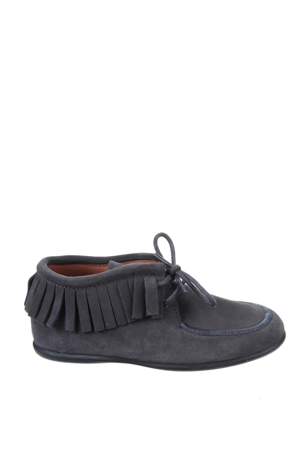 Детски обувки Neck & Neck, Размер 29, Цвят Сив, Естествен велур, Цена 28,34лв.