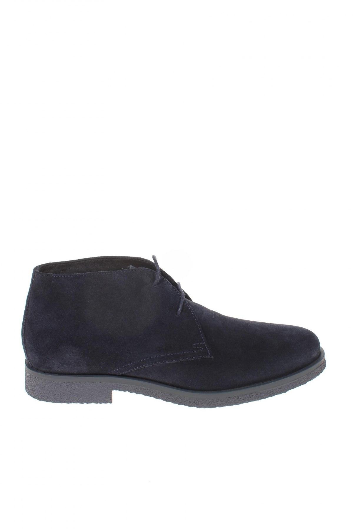 Мъжки обувки Geox, Размер 41, Цвят Син, Естествен велур, Цена 171,75лв.