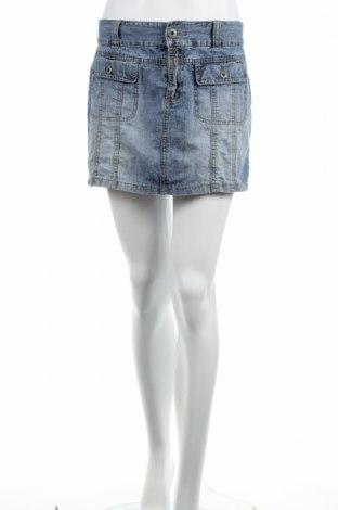 Φούστα Vero Moda, Μέγεθος M, Χρώμα Μπλέ, Βαμβάκι, Τιμή 3,06€