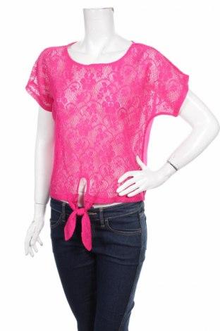 Дамска блуза Derek Heart, Размер L, Цвят Розов, Полиестер, Цена 3,00лв.