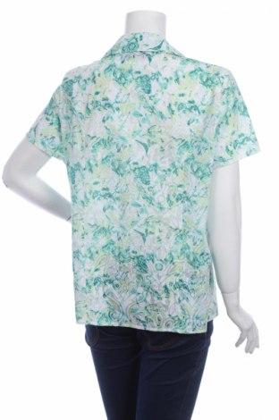 Γυναικείο πουκάμισο Basic Style, Μέγεθος L, Χρώμα Πράσινο, 62% πολυεστέρας, 38% βαμβάκι, Τιμή 10,52€