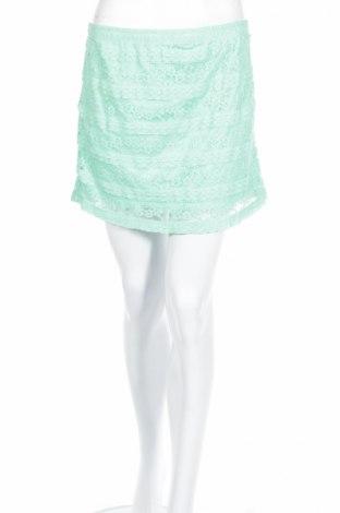 Φούστα Blind Date, Μέγεθος L, Χρώμα Πράσινο, 75% πολυαμίδη, 20% βαμβάκι, 5% ελαστάνη, Τιμή 3,67€