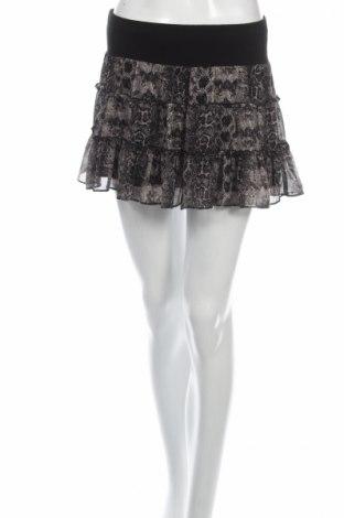 Пола H&M, Размер XS, Цвят Сив, Полиестер, памук, еластан, Цена 15,20лв.