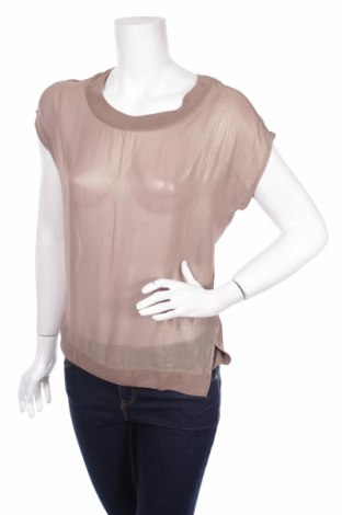 Дамска блуза Kapalua, Размер S, Цвят Бежов, Вискоза, Цена 13,11лв.