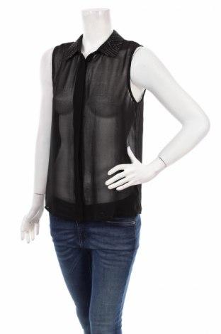 Дамска риза, Размер S, Цвят Черен, Цена 5,44лв.