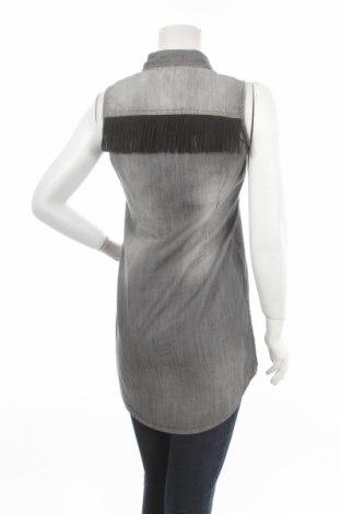 Γυναικείο πουκάμισο Amisu, Μέγεθος S, Χρώμα Γκρί, Τιμή 15,46€