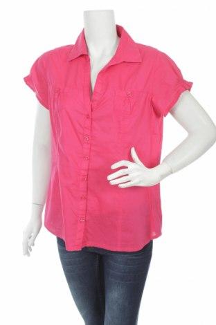 Дамска риза Clockhouse, Размер M, Цвят Розов, 100% памук, Цена 4,64лв.
