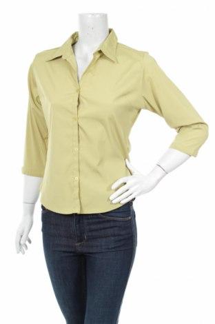 Γυναικείο πουκάμισο Greenvillage, Μέγεθος M, Χρώμα Πράσινο, Πολυεστέρας, πολυαμίδη, ελαστάνη, Τιμή 20,10€