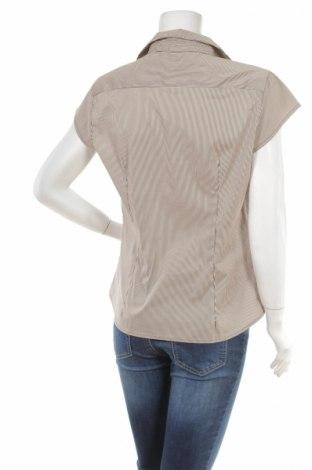 Γυναικείο πουκάμισο H&M, Μέγεθος L, Χρώμα Καφέ, 33% βαμβάκι, 24% πολυαμίδη, 41% πολυεστέρας, 2% ελαστάνη, Τιμή 11,13€