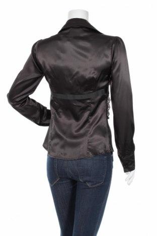 Γυναικείο πουκάμισο Malibu, Μέγεθος L, Χρώμα Μαύρο, 97% πολυεστέρας, 3% ελαστάνη, Τιμή 19,59€