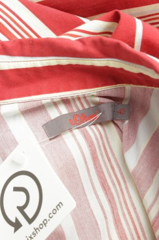Γυναικείο πουκάμισο S.Oliver, Μέγεθος L, Χρώμα Πολύχρωμο, Βαμβάκι, Τιμή 24,23€