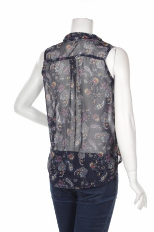 Γυναικείο πουκάμισο Tally Weijl, Μέγεθος S, Χρώμα Μπλέ, Πολυεστέρας, Τιμή 9,28€