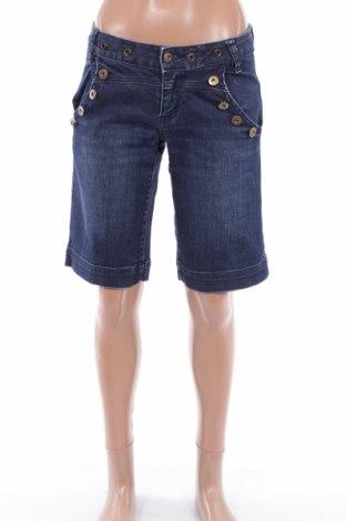 Γυναικείο κοντό παντελόνι Only Jeans, Μέγεθος XS, Χρώμα Μπλέ, 98% βαμβάκι, 2% ελαστάνη, Τιμή 4,76€