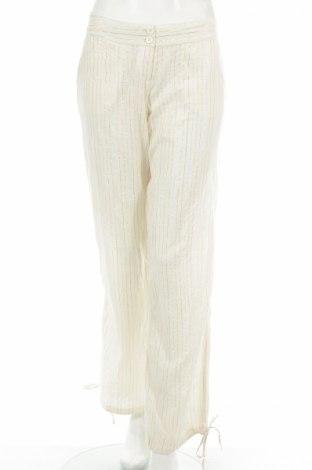 Дамски панталон H&M Divided, Размер M, Цвят Бежов, 98% памук, 2% еластан, Цена 5,90лв.