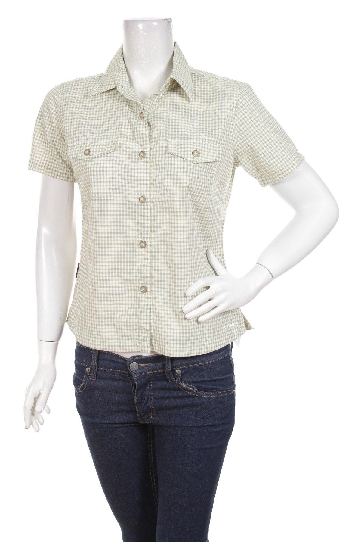 Γυναικείο πουκάμισο Eider, Μέγεθος S, Χρώμα Πράσινο, 80% πολυεστέρας, 20% πολυαμίδη, Τιμή 13,61€