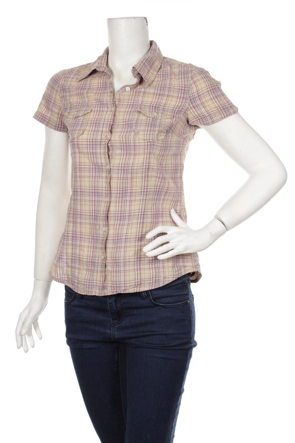 Γυναικείο πουκάμισο H&M L.o.g.g, Μέγεθος S, Χρώμα Πολύχρωμο, Βαμβάκι, Τιμή 8,66€