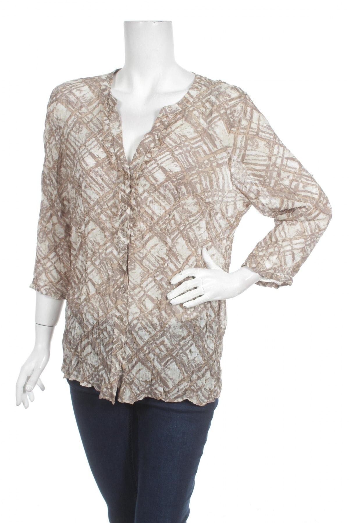 Γυναικείο πουκάμισο Reitmans, Μέγεθος XL, Χρώμα Πολύχρωμο, Πολυεστέρας, Τιμή 16,08€
