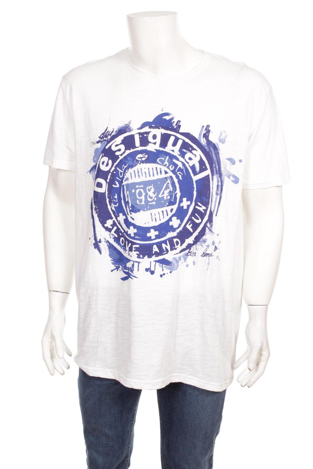 Pánske tričko Desigual - za výhodnú cenu na Remix -  100743297 bf4b157a414