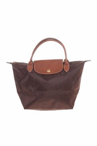 Γυναικεία τσάντα Longchamp, Χρώμα Καφέ, Κλωστοϋφαντουργικά προϊόντα, γνήσιο δέρμα, Τιμή 39,28€