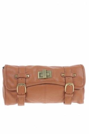 Дамска чанта South, Цвят Кафяв, Еко кожа, Цена 32,50лв.