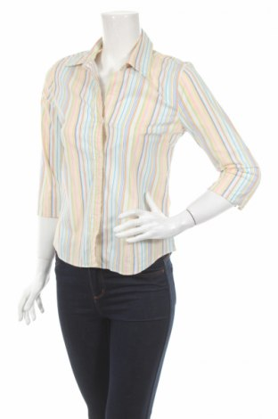 Γυναικείο πουκάμισο H&M, Μέγεθος XS, Χρώμα Πολύχρωμο, 97% βαμβάκι, 3% ελαστάνη, Τιμή 14,47€