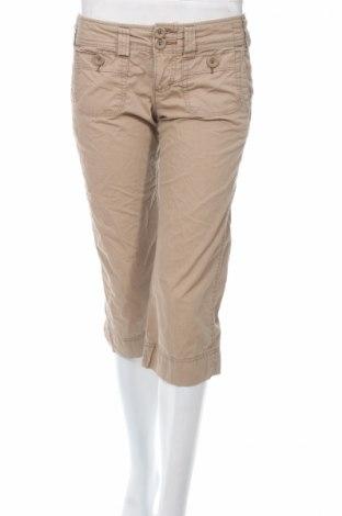 Дамски панталон American Eagle, Размер S, Цвят Бежов, Памук, Цена 7,22лв.