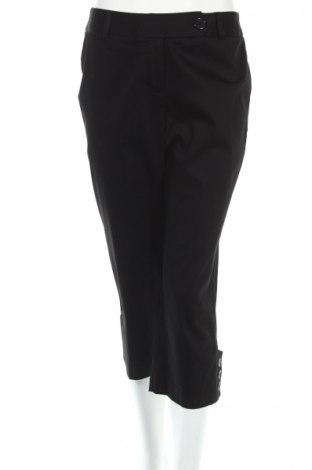 Дамски панталон Harve Benard, Размер S, Цвят Черен, 97% памук, 3% еластан, Цена 7,40лв.