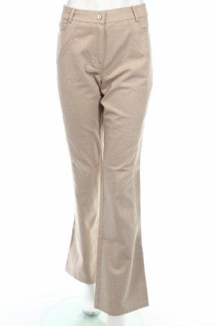 Γυναικείο παντελόνι Mariella Rosati, Μέγεθος L, Χρώμα Γκρί, 95% βαμβάκι, 5% ελαστάνη, Τιμή 10,45€