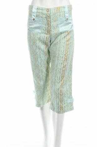 Дамски панталон PLOUMANAC'H, Размер S, Цвят Многоцветен, 86% памук, 14% полиестер, Цена 3,00лв.