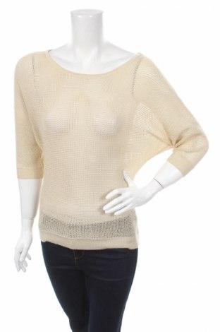 Дамски пуловер Amisu, Размер L, Цвят Бежов, Цена 4,91лв.