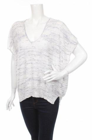Дамски пуловер Sisley, Размер M, Цвят Бял, 60% памук, 36% вискоза, 4% акрил, Цена 11,18лв.