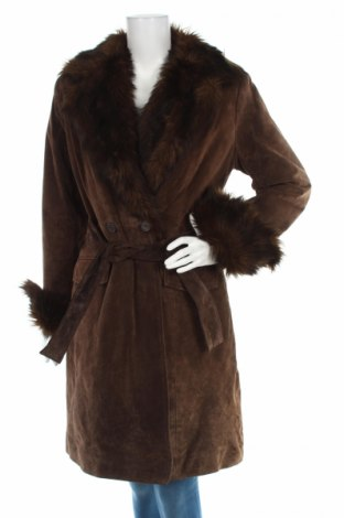 Δερμάτινο γυναικείο παλτό Authentic