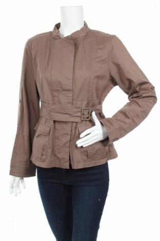 Дамско яке In Extenso, Размер L, Цвят Кафяв, 98% памук, 2% еластан, Цена 10,92лв.