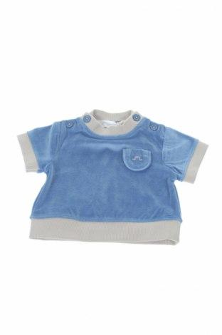 Детска блуза Chateau de Sable, Размер 3-6m/ 62-68 см, Цвят Син, Полиестер, Цена 16,80лв.