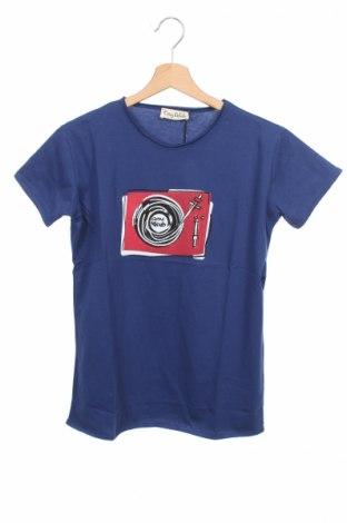 Детска тениска Cosy Rebels, Размер 15-18y/ 170-176 см, Цвят Син, Памук, Цена 16,00лв.