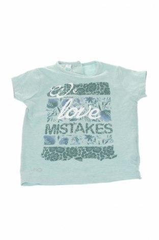 Детска тениска I Do By Miniconf, Размер 9-12m/ 74-80 см, Цвят Син, 95% памук, 5% еластан, Цена 12,25лв.