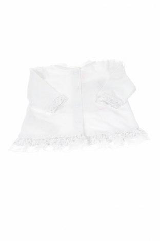 Детска туника Chicco, Размер 0-1m/ 50 см, Цвят Бял, 95% памук, 5% еластан, Цена 27,30лв.