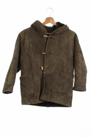 Detský kožený kabát  Shearling