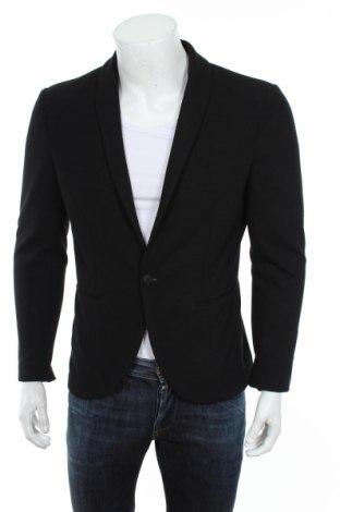 Мъжко сако Premium By Jack & Jones, Размер M, Цвят Черен, 85% полиестер, 15% памук, Цена 51,35лв.