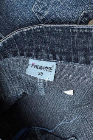 Пола Promise, Размер S, Цвят Син, 85% памук, 13% полиестер, 2% еластан, Цена 5,40лв.