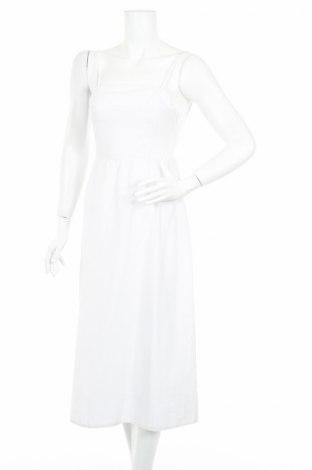 Рокля Edited, Размер XS, Цвят Бял, 50% памук, 50% вискоза, Цена 35,55лв.