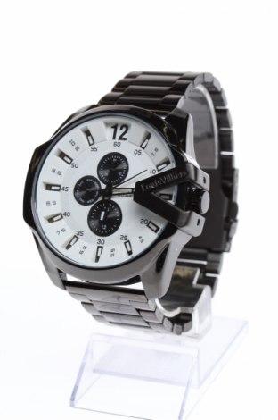 Часовник Louis Villiers, Цвят Черен, Метал, Цена 89,55лв.