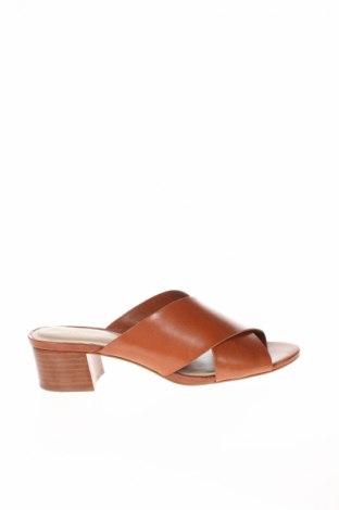 Papuci de casă Aldo, Mărime 37, Culoare Maro, Piele naturală, Preț 165,21 Lei