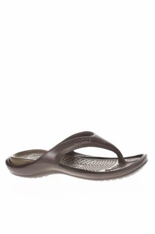 Papuci de casă Crocs, Mărime 39, Culoare Maro, Poliuretan, Preț 151,76 Lei