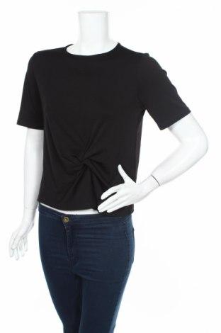 Дамска блуза Topshop, Размер M, Цвят Черен, 96% полиестер, 4% еластан, Цена 7,35лв.