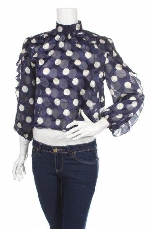 Γυναικεία μπλούζα Zara, Μέγεθος M, Χρώμα Μπλέ, Πολυεστέρας, Τιμή 10,64€